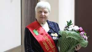 Почётный гражданин Брянска Валентина Стененкова отметила 80-летие