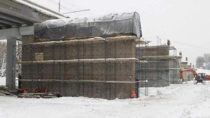 В Брянске возобновились работы на Первомайском мосту