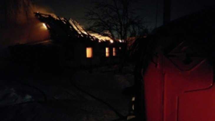 В Карачевском районе при пожаре погибли трое детей