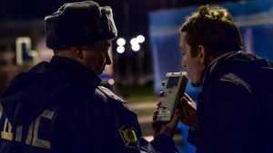 За новогодние праздники в Брянске выявили 157 пьяных водителей