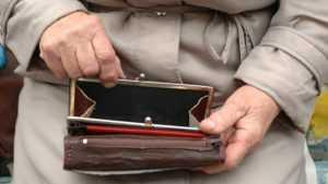 Брянская пенсионерка присвоила чужой кошелек