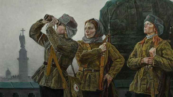Московский художник выставит в Брянске картины о защитниках Отечества