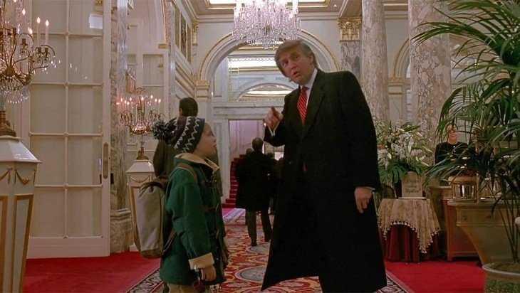 «Агент» Трамп вновь засветился