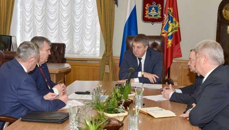 Руководители Брасовского района доложили об успехах губернатору