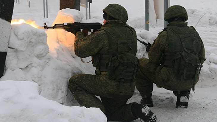 Брянские военные близ Украины надели пуленепробиваемые жилеты