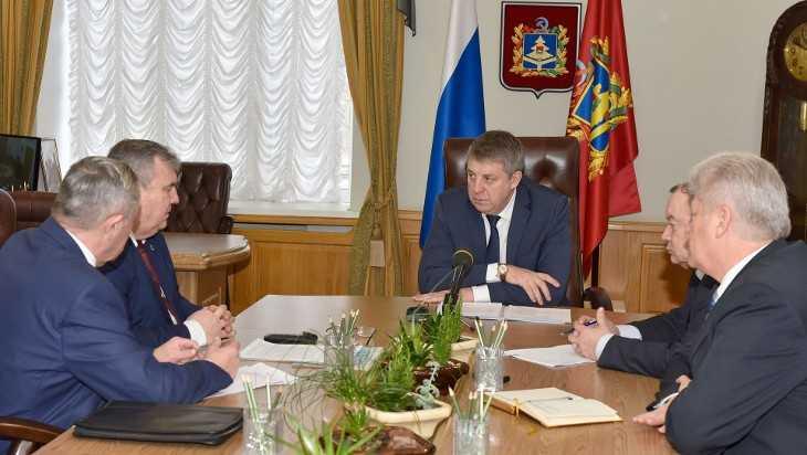 Губернатор Богомаз встретился с руководителями Брасовского района