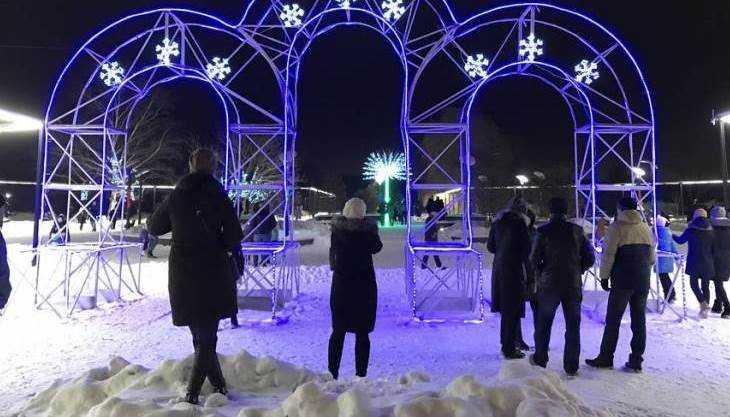 Участниками новогодних гуляний стали 400 тысяч брянцев