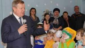 В Новозыбковском районе ко всем детям пришёл новогодний праздник