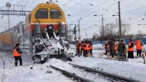 Брянские железнодорожники не позволили снегу остановить поезда