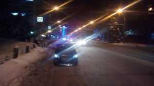 В Брянске на проспекте Ленина «Шкода» сбила пешехода-нарушителя