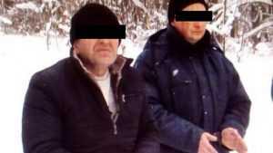 На брянской границе в снегах задержали украинца и азербайджанца