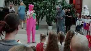 Для детей Погарского района в Год театра показали «Новогоднюю сказку»