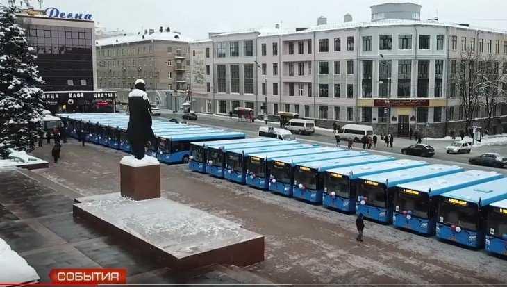 В Брянске полностью обновили парк городских автобусов