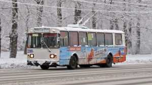 В ночь на Крещение в Брянске пустят дополнительные троллейбусы