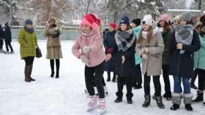 В Унече школьники провели флешмоб «Если хочешь быть здоров»