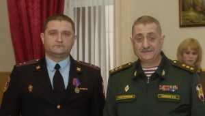 Сотрудник Брянского управления Росгвардии награжден медалью