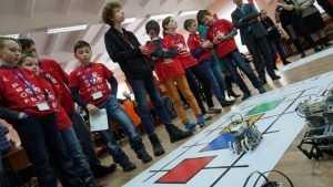 В Брянском лицее прошли соревнования роботов и их создателей