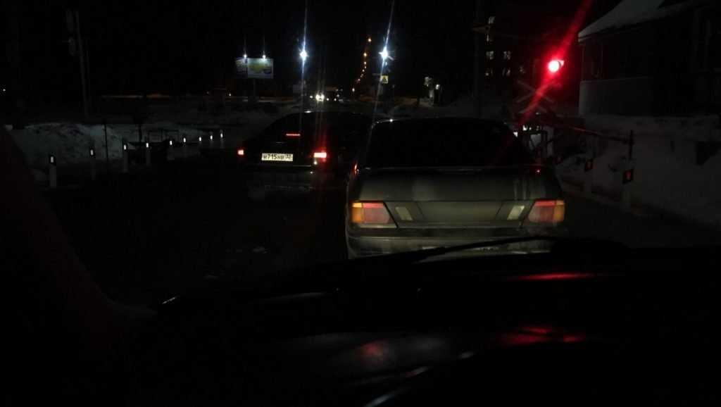 В сети появился снимок хамского маневра брянского водителя