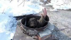 В Брянске сгорела ночлежка бродяг в канализационном люке