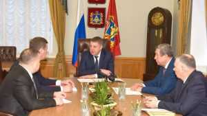 Брянский губернатор пообещал достроить спорткомплекс в Жуковке