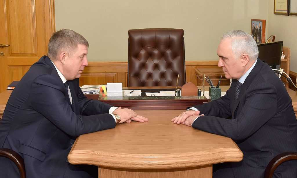 Губернатор Богомаз обсудил с Зязиковым развитие Брянщины