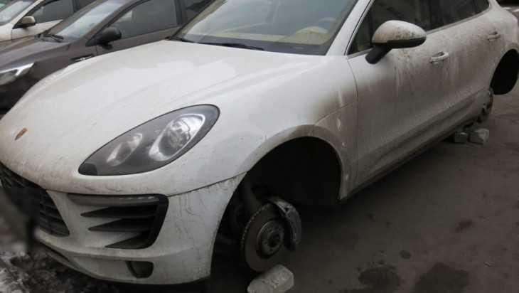 В Брянске задержали «банду» похитителей колес