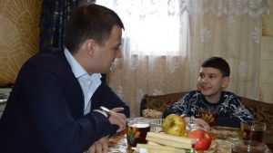 Брянские сторонники «Единой России» вселили надежду больному мальчику