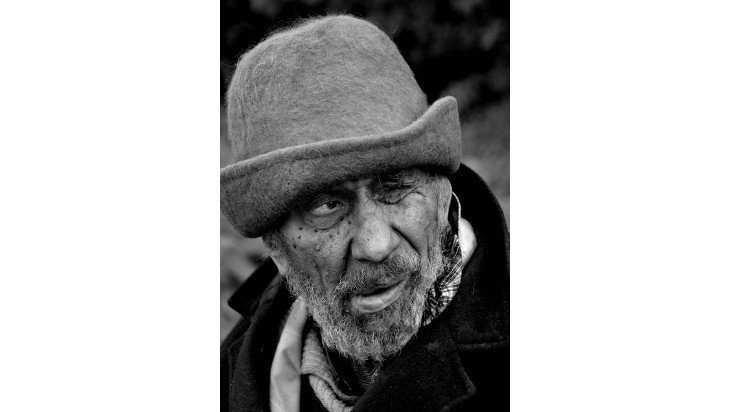 Брянского фотографа отметили на конкурсе в Белгороде за портрет бомжа