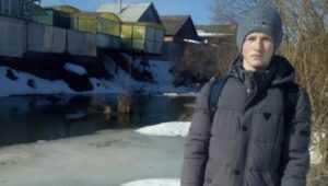 В Климове школьник спас от гибели провалившегося под лёд мальчика