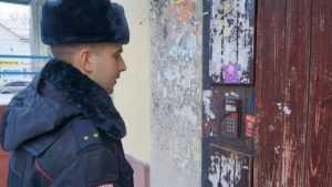 В Брянске полиция начала обход квартир, предупреждая о мошенниках