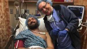 Брянский боец Виталий Минаков перенес операции на плече и колене