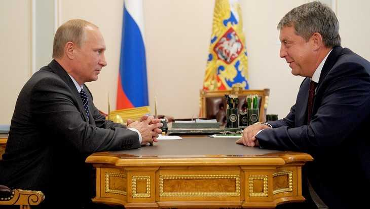 Президент Путин поздравил брянского губернатора с днем рождения