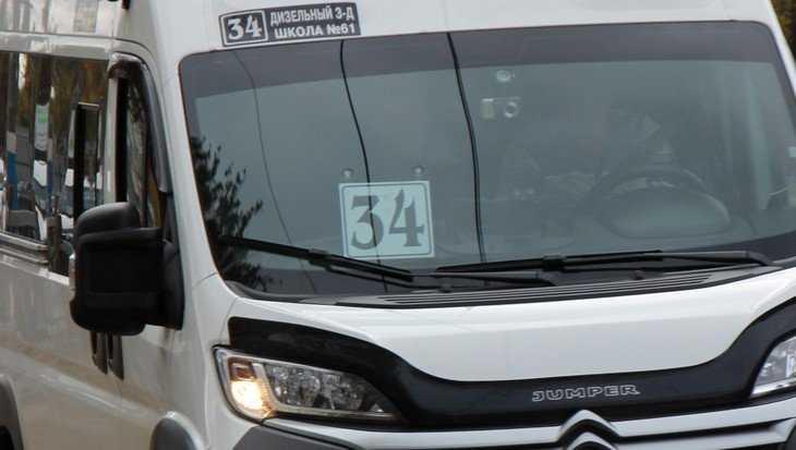 В Брянске заметили «неадекватного» водителя маршрутки