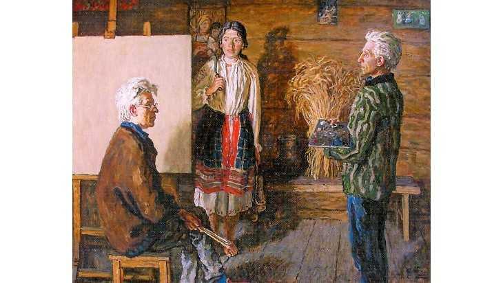 Картины брянских художников Ткачевых отправятся на выставку в Белоруссию