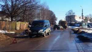 Двухлетний ребенок пострадал в тройном ДТП в Клинцах
