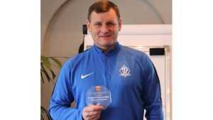 Тренер брянского «Динамо» признан лучшим в концовке осеннего сезона