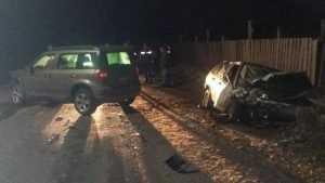 Брянская автомобилистка при развороте на трассе угодила в ДТП