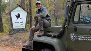 Основателю «Брянского леса» Игорю Шпиленку сегодня исполнилось 59 лет
