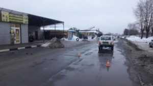 В Брянске три женщины за день попали под машины