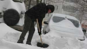 В Почепском районе начнут наказывать за выброшенный на дорогу снег