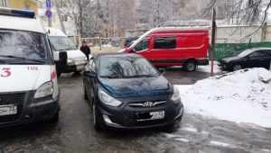 В Брянске автохам перекрыл дорогу скорой помощи возле кардиодиспансера