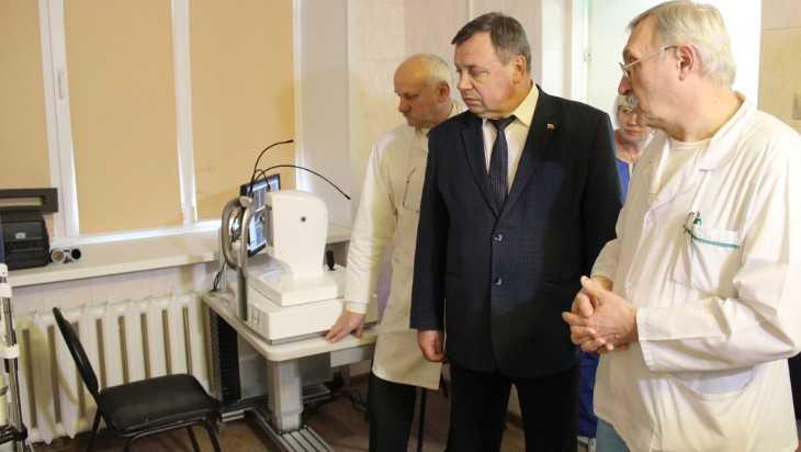 В Брянской детской областной больнице обновили медтехнику
