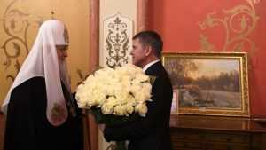 Игорь Маковский поздравил Святейшего Патриарха Московского и всея Руси Кирилла