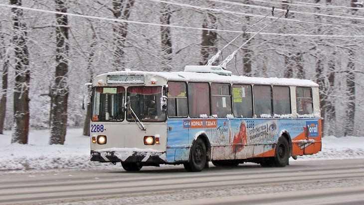 Брянцев на «Лыжню России» довезут дополнительные автобусы и троллейбусы