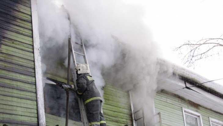 В Клетне при пожаре погиб 61-летний мужчина