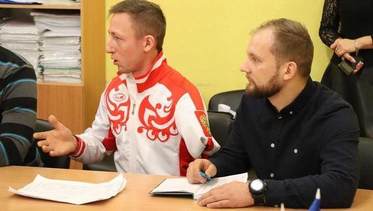 В Клинцах в семье паралимпийца Олега Балухто родился сын