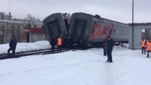 В РЖД рассказали о столкновении вагонов на станции Брянск-I