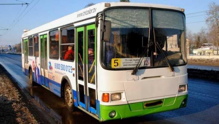В Брянске автобус № 5 будет ходить по новым кольцевым маршрутам