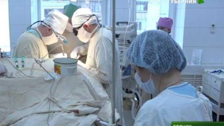В брянской больнице провели сложную операцию на сонной артерии