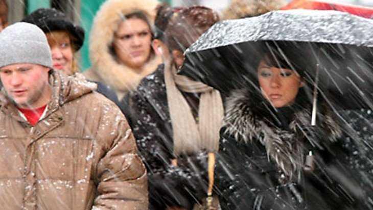 В Брянске синоптики дали оперативное предупреждение о циклоне